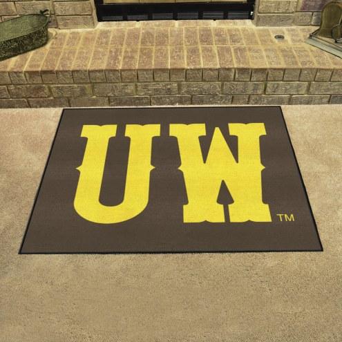 "Wyoming Cowboys ""UW"" All-Star Mat"