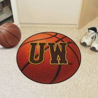 "Wyoming Cowboys ""UW"" Basketball Mat"