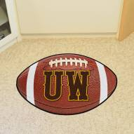"Wyoming Cowboys ""UW"" Football Floor Mat"