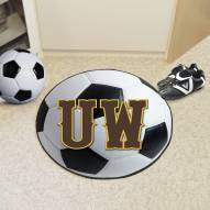 "Wyoming Cowboys ""UW"" Soccer Ball Mat"