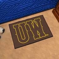 "Wyoming Cowboys ""UW"" Starter Rug"