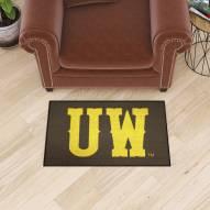 "Wyoming Cowboys ""UW"" Starter Rug"