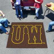 "Wyoming Cowboys ""UW"" Tailgate Mat"