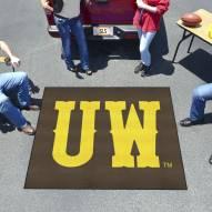 """Wyoming Cowboys """"UW"""" Tailgate Mat"""