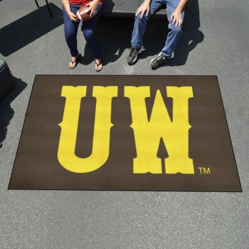 "Wyoming Cowboys ""UW"" Ulti-Mat Area Rug"