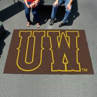"Wyoming Cowboys ""UW"" Ulti-Mat Area Rug"