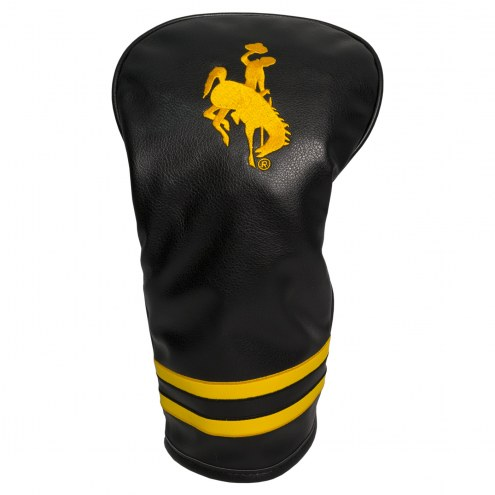 Wyoming Cowboys Vintage Golf Driver Headcover