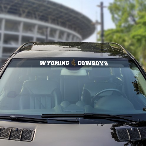 Wyoming Cowboys Windshield Decal