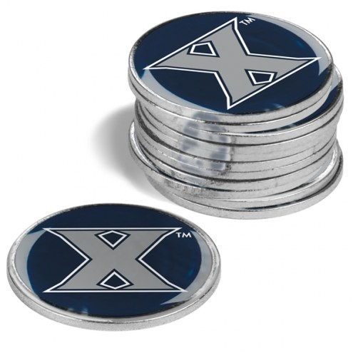 Xavier Musketeers 12-Pack Golf Ball Markers