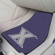 Xavier Musketeers 2-Piece Carpet Car Mats