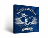 Xavier Musketeers Banner Canvas Wall Art