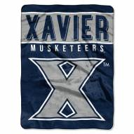 Xavier Musketeers Basic Plush Raschel Blanket
