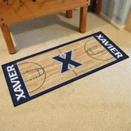 Xavier Musketeers Basketball Court Runner Rug