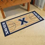 Xavier Musketeers Basketball Court Runner Rug