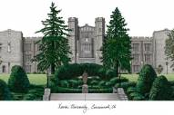 Xavier Musketeers Campus Images Lithograph