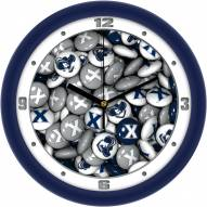 Xavier Musketeers Candy Wall Clock