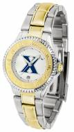 Xavier Musketeers Competitor Two-Tone Women's Watch