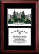 Xavier Musketeers Diplomate Diploma Frame