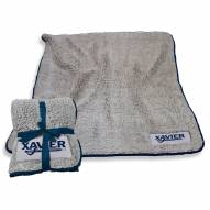 Xavier Musketeers Frosty Fleece Blanket