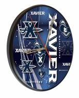 Xavier Musketeers Digitally Printed Wood Clock