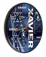 Xavier Musketeers Digitally Printed Wood Clock