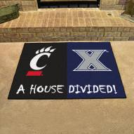 Xavier Musketeers/Cincinnati Bearcats House Divided Mat