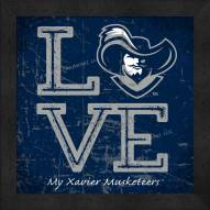 Xavier Musketeers Love My Team Color Wall Decor