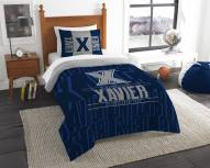 Xavier Musketeers Modern Take Twin Comforter Set