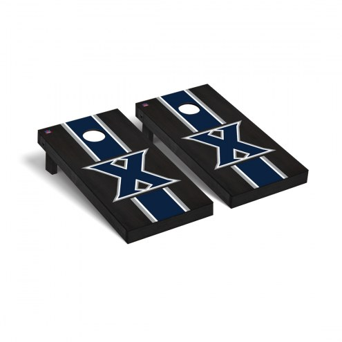 Xavier Musketeers Onyx Stained Cornhole Game Set