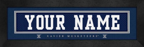 Xavier Musketeers Personalized Stitched Jersey Print