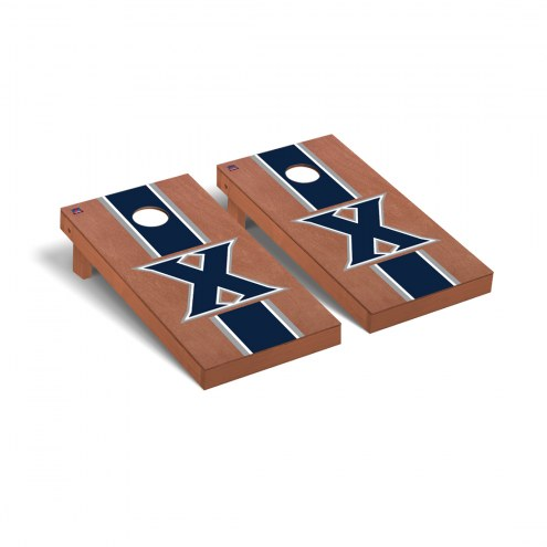 Xavier Musketeers Rosewood Stained Cornhole Game Set