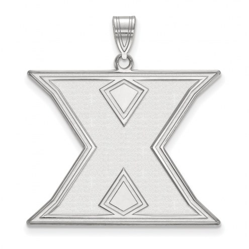Xavier Musketeers Sterling Silver Extra Large Pendant