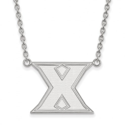Xavier Musketeers Sterling Silver Large Pendant Necklace
