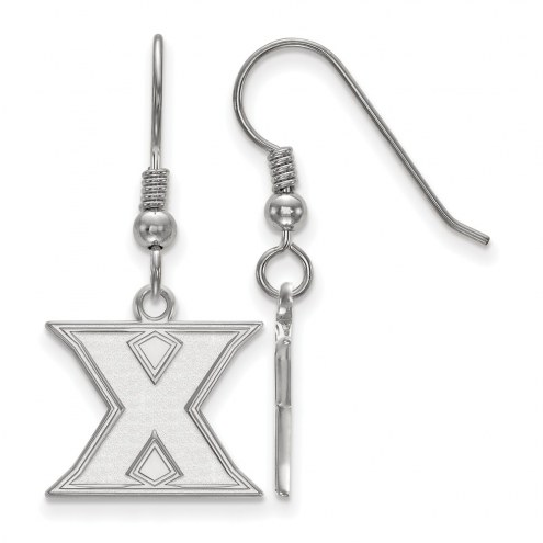 Xavier Musketeers Sterling Silver Small Dangle Earrings