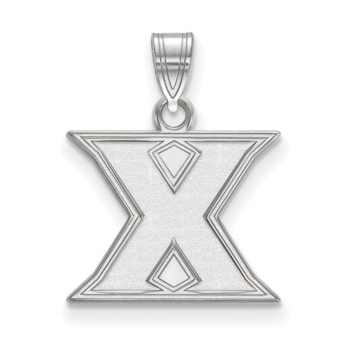 Xavier Musketeers Sterling Silver Small Pendant
