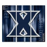Xavier Musketeers Triptych Rush Canvas Wall Art