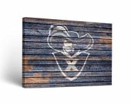 Xavier Musketeers Weathered Canvas Wall Art
