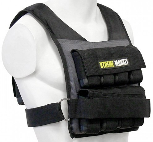 Xtreme Monkey 55 lb Commercial Micro Adjustable Weighted Vest