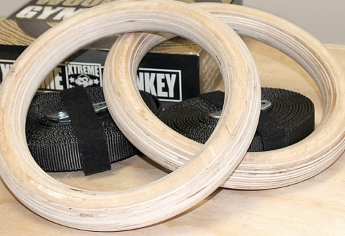 Xtreme Monkey Wood Gym Rings