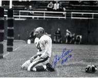 "Y.A. Tittle Agony of Defeat Blood 8 x 10 Photo w/ ""HOF"""
