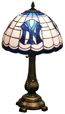 New York Yankees MLB Stained Glass Lamp