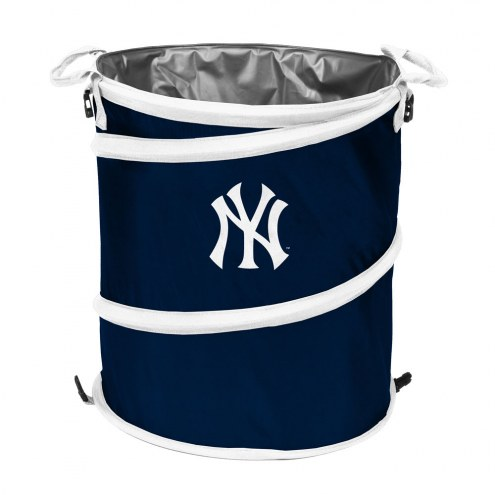 New York Yankees MLB Collapsible Trashcan