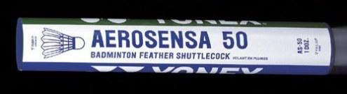 Yonex Aerosensa 50 Championship Goose Feather Shuttlecocks - 1 Dozen
