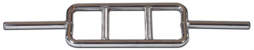 York 1 inch Standard Chrome Tricep Bar with Fixed Inner Collars
