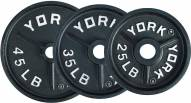 York 2 inch Deep Dish Olympic Weight Plate