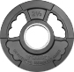 York 2 inch G2 Olympic Dual Grip Thin Line Rubber Encased Plate - 2.5 lb