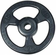 York 2 inch ISO-Grip Steel Composite Olympic Plate - 100 lb