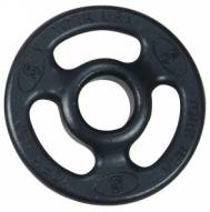 York 2 inch ISO-Grip Steel Composite Olympic Plate - 5 lb