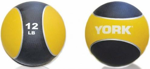 York 2 Tone Medicine Ball -  12 lb