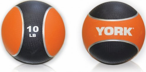 York 2 Tone Medicine Ball - 10 lb